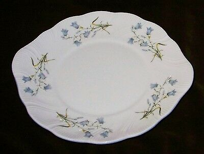 QUEENS ROSINA Harebell Shaped Cake Plate - Woman & Home Series