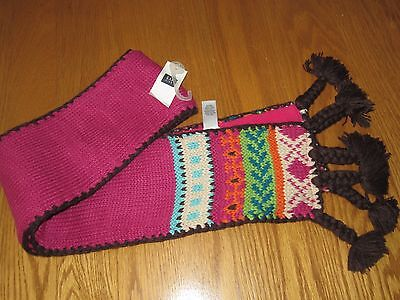 NWT Gap kids girls knit scarf CUTE