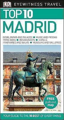 DK Eyewitness Top 10 Travel Guide: Madrid, DK, New Book