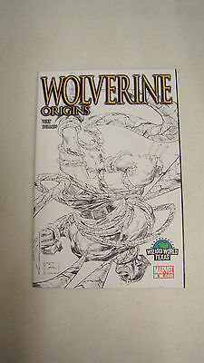 Wolverine Origins #6 (Marvel Comics) Wizard World Texas Sketch Variant