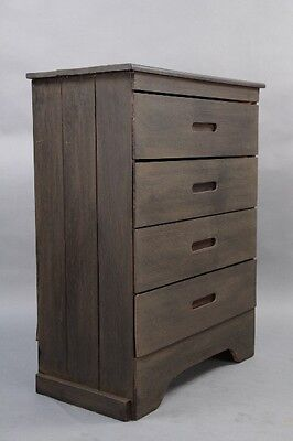 1930's Simple Rancho Monterey Period Dresser w Drawers Antique Bedroom (10088)
