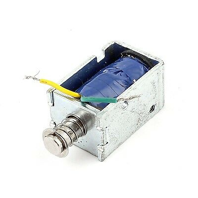 Uxcell DC 9V Push-Pull Type Lifting Magnet Solenoid Electromagnet 6 mm 400 g