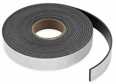 """Master Magnetics Flexible Magnet Strip with Adhesive Back  1/16"""" Thick 3"""" Wid..."""