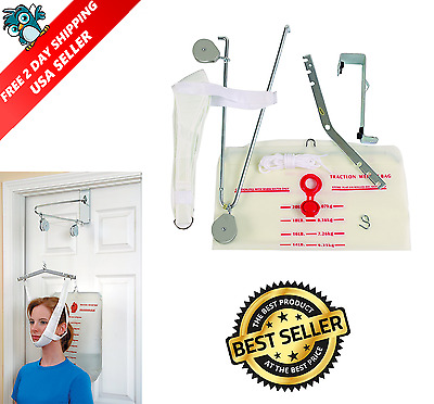 Duro-Med Cervical Traction Device Over The Door Neck Traction Therapy Cervical