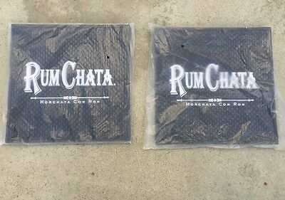 Rum Chata Horchata Con Ron Bar Mat Commercial Quality 12x12. 2. Mats