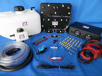 8.0 L/M Hydrogen Generator HHO Dry Cell Kit for Gas or Diesel Trucks KOH Safe