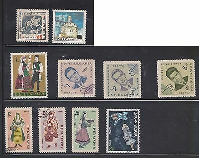 (U16-19) 1965-93 Bulgaria mix of 10 stamps value to 100 (J)