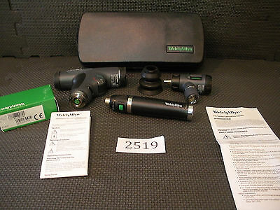 Welch Allyn Diagnostic Set Panoptic & Macroview Otoscope