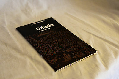 Nice vintage 1960s National Theatre programme: OTHELLO Laurence Olivier