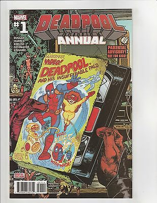 Deadpool (2016) Annual #1 NM- 9.2 Marvel Comics