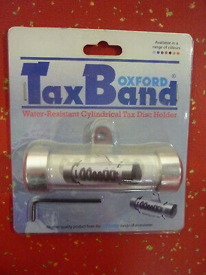 Oxford Tax Band Tax Disc Holder/Parking Permit Holder - Various Colours