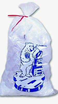 BULK 400/PK 10lb ICE BAG ** With Ties & Free Shipping 10lbs Bags ~ Only $32.95