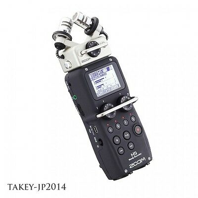 ZOOM H5 Handy PCM Field Recorder w/ Interchangeable Mic Capsules w/ Tracking