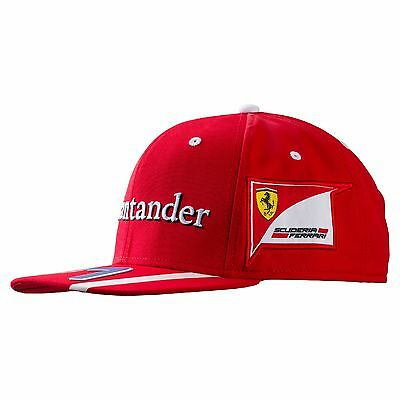 Scuderia Ferrari F1 Official Adults Kimi Raikkonen #7 Team Flatbrim Cap - 2017