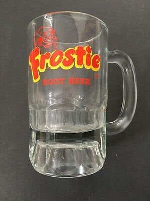 Vintage Frostie Root Beer Mug Heavy Glass 5-3/8""