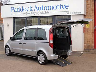 Mercedes Benz Vaneo 1.7 CDI Trend Disabled Wheelchair Adapted Vehicle WAV