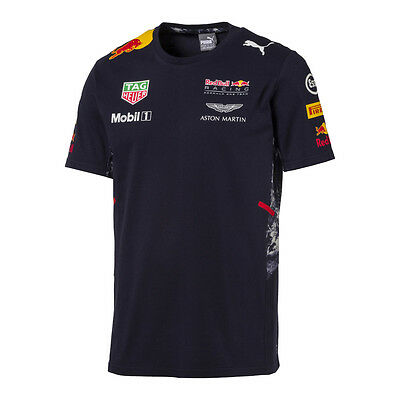 Red Bull Racing F1 Official Men's Teamline team T-Shirt - 2017