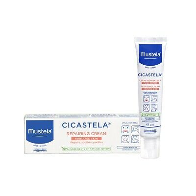 Mustela Stelatria Purifying Recovery Cream 40ml For Irritated areas, face & body