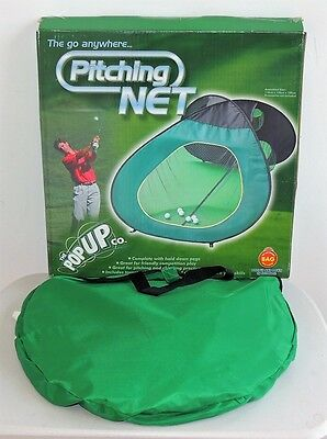 Pop Up Pitching Net by The Pop Up Co. Golf Practice Aid