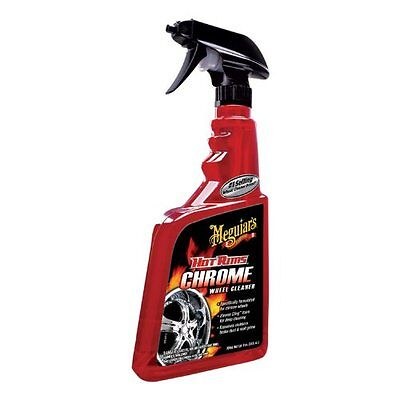 Meguiar's G19124 Hot Rims Chrome Wheel Cleaner - 24 oz., 6 oz., New, 2DAY SHIP