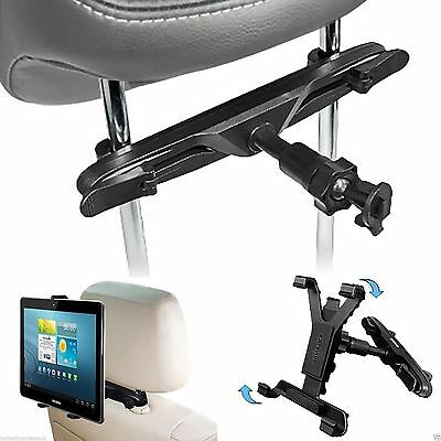 Adjustable Car Headrest Seat Mount HOLDER Apple iPad 2 3 4,Mini, iPad Air2 & Pro