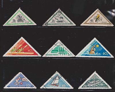 (U18-12) 1960-70 Hungary mix of 17 stamps value to 60F (J)