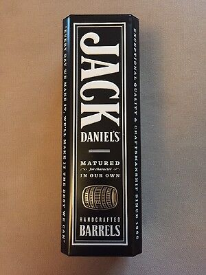 Jack Daniels Old No. 7 Whiskey Tin Box Collectible With Lid