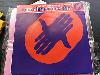 Single Undercover - Never Let Her Slip Away - Pwl Europe 1992 Vg+
