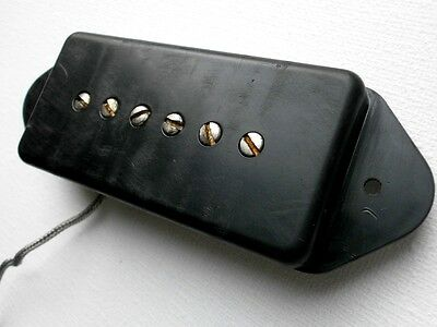 P90 Pickup Heavy Relic Aged Dog Ear A4 Handcrafted by Q pickups Fits Gibson Epi