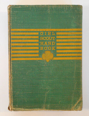 Vintage Girl Scout Handbook 1941 book~Scouting Life learning tool
