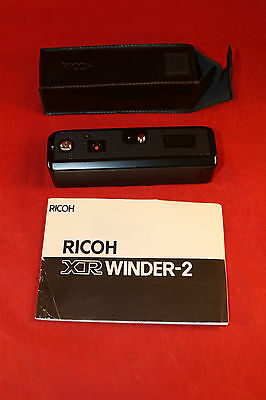Ricoh XR Winder-2 with Case Manual
