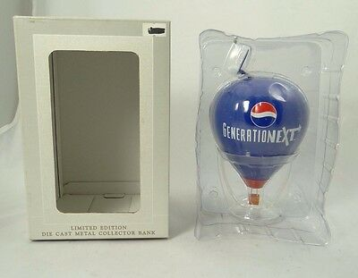 Speccast ~ Generationext Pepsi Hot-Air Balloon Die-Cast Metal Collector Bank~New
