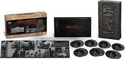 New & Sealed.Sons of Anarchy:The Complete Series Reaper Dvd Giftset Seasons 1-7.