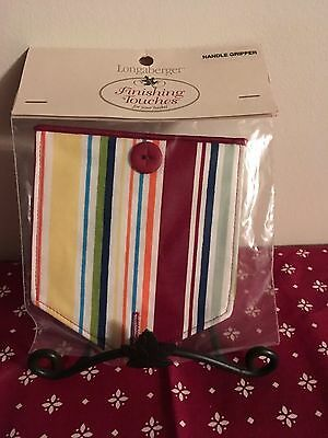 Longaberger Sunny Day Stripe Handle Tie