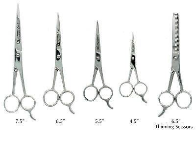 Hair Cutting Scissors Barber Shears - ICE Tempered 4 Sizes to Choose From