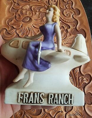 VINTAGE SALE ~Fran's Ranch Brothel Bar~ Dug's Brothel Decanter~NV~