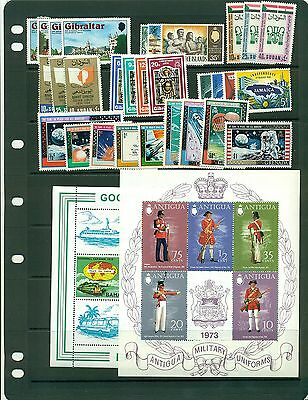 British Commonwealth MNH sets  CV $41.55 cheap!