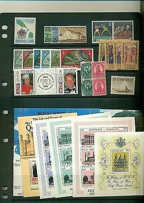 British Commonwealth MNH sets CV $65.35 - cheap!