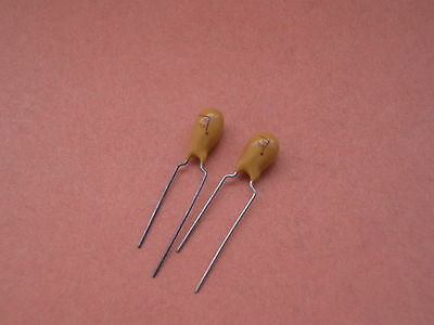 47uf 16v  TANTALLUM CAPACITOR 5mm pitch  = 2