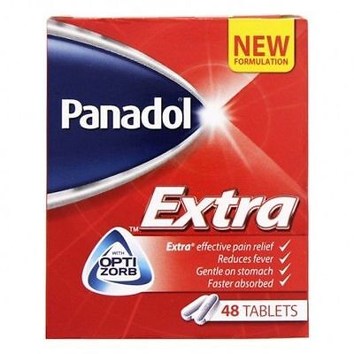 Panadol Extra Effective Pain Relief 48 Tablets