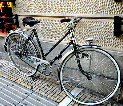 RARE 1940s FRENCH AUTOMOTO BICYCLE