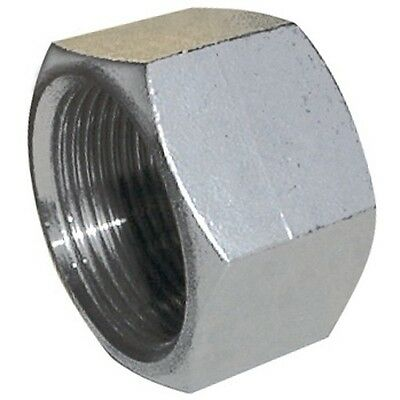 "Stainless Steel End Cap Female  BSP Sizes 1/8"" to 2""  Pipe Fittings"
