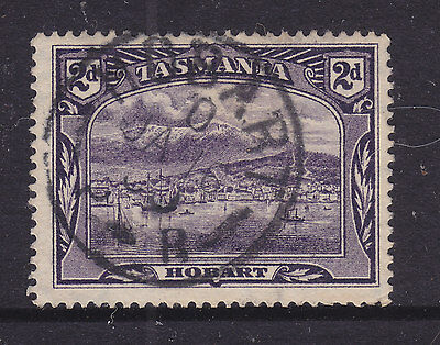 POSTMARK:  HOBART  O   P-R     ON 2d PITORIAL   FINE USED
