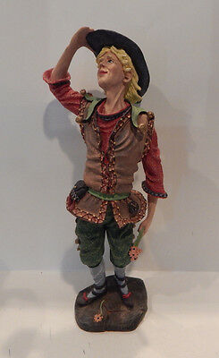 "Duncan Royale Figurine History Of Classic Entertainers 2 ""touchstone"" 13"" Tall"