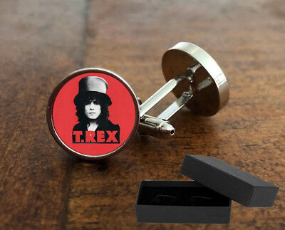 T-Rex - 3D Glass Lens Front - Marc Bolan Rock Band Music - Mens Gift