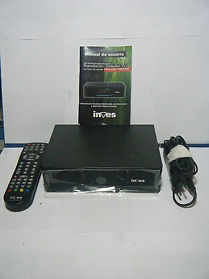 Inves Reproductor-Grabador Multimedia Con Disco Duro Y Tv Digital Terrestre,etc.
