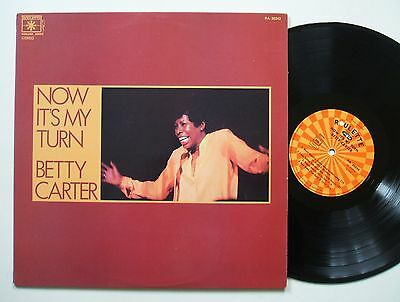 Betty Carter Now It´s My Turn Rare Orig Roulette Lp Vg++/mint-