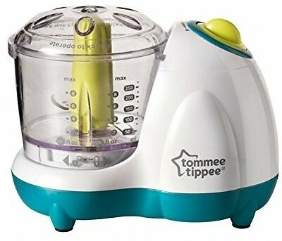 Tommee Tippee Explora Baby Toddler Small Handy Food Blender Processor Meal Puree