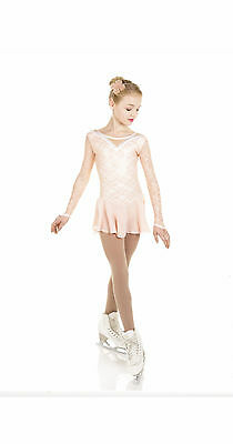 New Elite Xpression CLASSICAL BALLET Skating Dress D084-BLUSH Made on Order