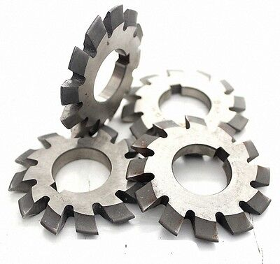 Set 8Pcs Module 1 PA20 Bore22 #1-8 Involute Gear Cutters